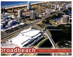 (AA 18) Australia - QLD - Gold Cost - Broadbeach  (with Stamp) - Piazze Di Mercato