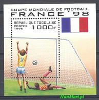 Togo 1996 Mi Bl 392 MNH ( ZS5 TGObl392 ) - 1998 – France