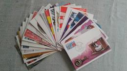 Lot De 24 Cartes ( Communication ; Energie ; Métier  ) - Collections, Lots & Series
