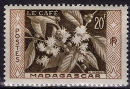 MADAGASCAR 331 ** MNH Fleur Du Caféier Café Coffee Kaffee - Unused Stamps