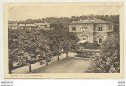 AK  Bayreuth Villa Wanfried 1912 - Bayreuth
