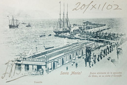 Cartolina - Spagna - Tenerife - Santa Maria - 1902 - Zonder Classificatie