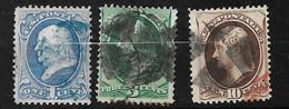 Etats-Unis    USA  N° 39; 41 Et 44    Oblitérés  B/ TB        Soldé             Le Moins Cher Du Site ! ! ! - Used Stamps