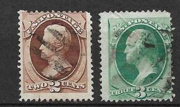 Etats-Unis    USA  N° 40  Et 41       Oblitérés  B/ TB        Soldé             Le Moins Cher Du Site ! ! ! - Used Stamps