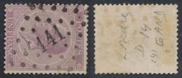 """émission 1865 - N°21A (D14) Obl Pt 141 """"Gand"""". Belle Frappe ! - 1865-1866 Profiel Links"""