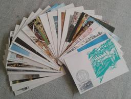 Lot De 25 Cartes ( Site Et Monument  ) - Verzamelingen & Reeksen