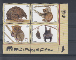 UNO Genf Michel Cat.No. Mnh/** 834/837 - Ongebruikt