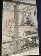CPA Carte Postale Marseille - Exposition Coloniale Tisserand Tunisien 1906 - Straßenhandel Und Kleingewerbe