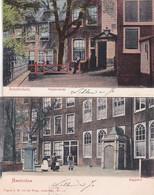 260644Amsterdam, Begijnenhofje – Bagijnhof Rond 1900. (2 Kaarten) - Amsterdam