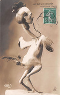 CPA SATIRIQUE ± 1910 ILLUSTRATEUR CÉSAR GIRIS - CHANTECLER - ROSTAND - COQ - ED. A.N  PARIS N°41 (¬‿¬) ♥ - Teatro