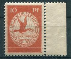 Deutsches Reich Flugpost - Michel I Ungebr.* - Aéreo