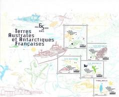 TAAF 2020 - Bloc - Les TAAF Ont 65 Ans ** - Ongebruikt