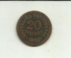 S-20 Centavos 1933 Guiné Bissau - Guinea-Bissau
