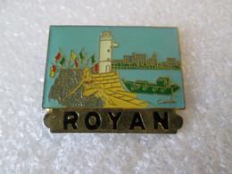 PIN'S    ROYAN - Cities