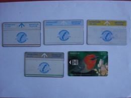 5 Cartes De MAURICE  ( Utilisée ). - Mauritius