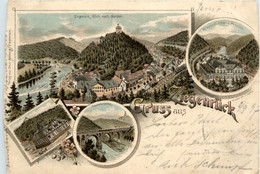 Gruss Aus Ziegenrück - Litho 1897 - Ziegenrück