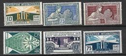 France N° 210 à 215 Neufs * * B/TB =MNH F/VF   Soldes       Le Moins Cher Du Site  ! ! ! - Unused Stamps