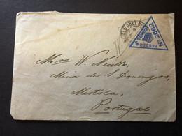 BFPO World War One Censored Mail To Portugal 5 January 1916 - Interi Postali