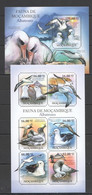 BC1083 2011 MOZAMBIQUE MOCAMBIQUE FAUNA BIRDS ALBATROSSES KB+BL MNH - Marine Web-footed Birds