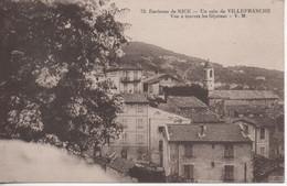 Un Coin De Villefranche Vue A Travers Les Glycines - Villefranche-sur-Mer