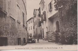 Villefranche La Rue Du Fourrage - Villefranche-sur-Mer