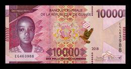 Guinea 10000 Francs 2018 (2019) Pick New SC UNC - Guinée