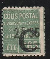 France Colis Postaux N° 116 Avec Charnière * - Mint/Hinged