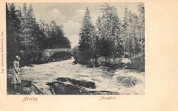 ARVIKA JOSSEFORS SWEDEN~AUG. JACOBSONS 1900s PHOTO POSTCARD 50693 - Sweden