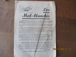 MIROIR SPRINT COURRIER DE MAURICE VIDAL FUSTIGEANT UN CONFRERE QUI FAISAIT LE 10 MAI 1943 L'ELOGE DE VON TSCHAMMER UND O - Pubblicitari