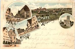 Gruss Aus Hilpoltstein - Litho - Other