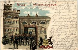 Gruss Von Der Wilhelmsburg Ulm - Litho - Ulm