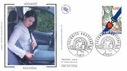 Enveloppe 1er Jour Sécurité Routière, 2004 (YT 3659) - 2000-2009