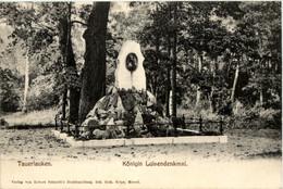 Memel Tauerlauken - Königin Luisendenkmal - Ostpreussen