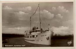 Motorschiff Kurisches Haff - Ostpreussen