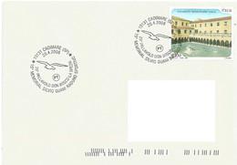 ITA_0028 - 20.4.2008 CADIMARE (SP) Pictorial Postmark  15th MEMORIAL SILVIO GUANI SPORTS MEETING 25th DON BOSCO-LA SPEZI - Volleyball