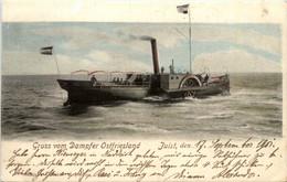 Juist - Gruss Vom Dampfer Ostfriesland - Juist