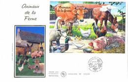 Enveloppe 1er Jour Animaux De La Ferme, 2004 (BF 69) - 2000-2009