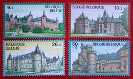 Solidarité : Châteaux Kastelen COB 2265-2268 (Mi 2317-2320) 1987 POSTFRIS MNH ** BELGIE BELGIEN BELGIUM - Nuovi