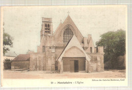 60 - Montataire (oise) -    L'Eglise - Montataire