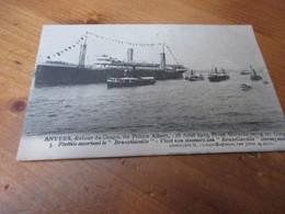 Anvers, Retour Du Congo Du Prins Albert 16 Aout 1909 - Unclassified