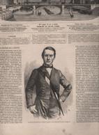 L'ILLUSTRATION 11 04 1863 ROI GEORGES DE GRECE - VINCENNES - CONSTANTINOPLE - FONTENOY HORACE VERNET - VIENNE - BEYROUTH - 1850 - 1899