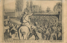 Belgique - Dinant - Guerre 14/18 - La Fusillade Du Mur Tschoffen Près De La Prison Par Les Allemands En 1914 - - Dinant