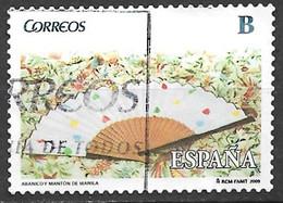 Spain 2009. Scott #3612 (U) Fan And Manila Shawl ** Complete Issue - 2001-10 Afgestempeld