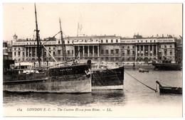 CPA ROYAUME UNI - LONDON E.C. - 184. The Custom House From River - LL - UK - Otros