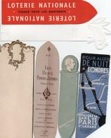 V11 96Hs  Lot N°20 De 6 Marque Pages Divers - Bookmarks