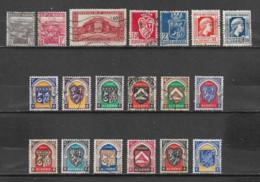 ALGERIE  Yvert  N° 164-165-167-178-179-211-214-256-258-259-260-263-264-265-268-269-270-171-337C  Oblitérés - Used Stamps