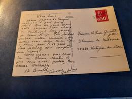 CP Affr Béquet 50 C Griffe Linéaire VENDEE - 1961-....