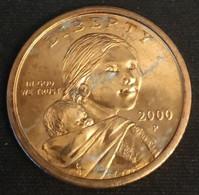 ETATS UNIS - USA - 1 DOLLAR 2000 P - Sacagawea - KM 310 - Unclassified