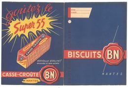 Protège Cahier Biscuits BN Nantes - B