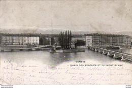 SUISSE GE GENÈVE Quai Des Bergues Et Du Mont Blanc - GE Genf
